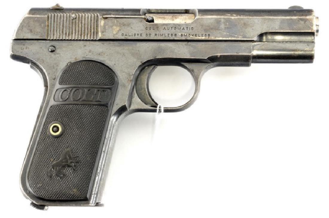 1916 Colt 32 Auto Pistol With Magazine