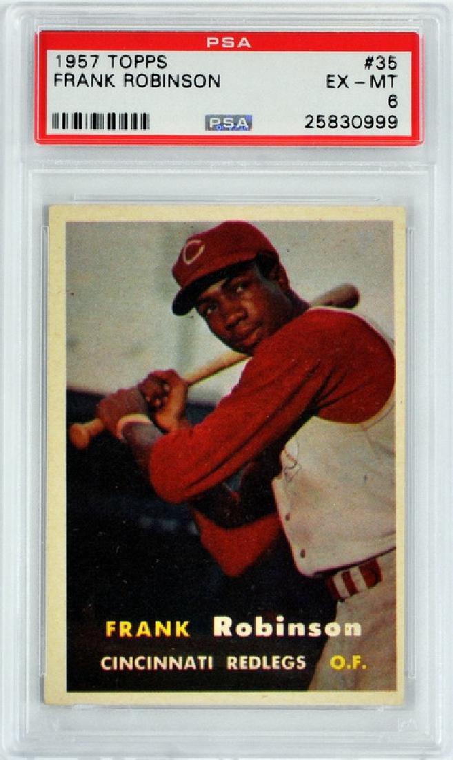 1957 Topps Frank Robinson Rookie Psa 6