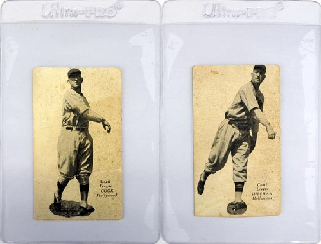 Two Zeenuts Cards Cook And Sheehan