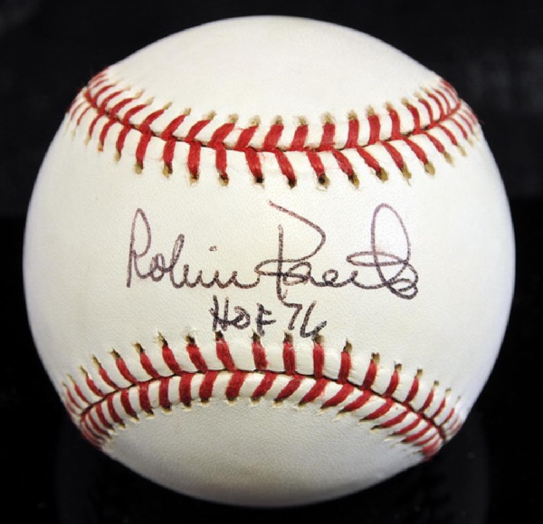 Robin Roberts Signed Baseball Jsa Coa