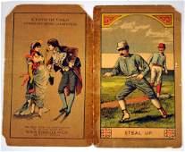 1890's New York Vs. Philly Scorecard