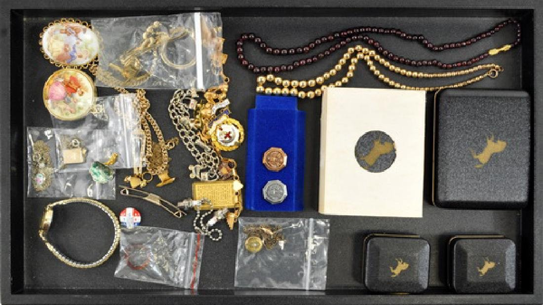 Estate Costume Jewelry Colt Firearms Cufflinks