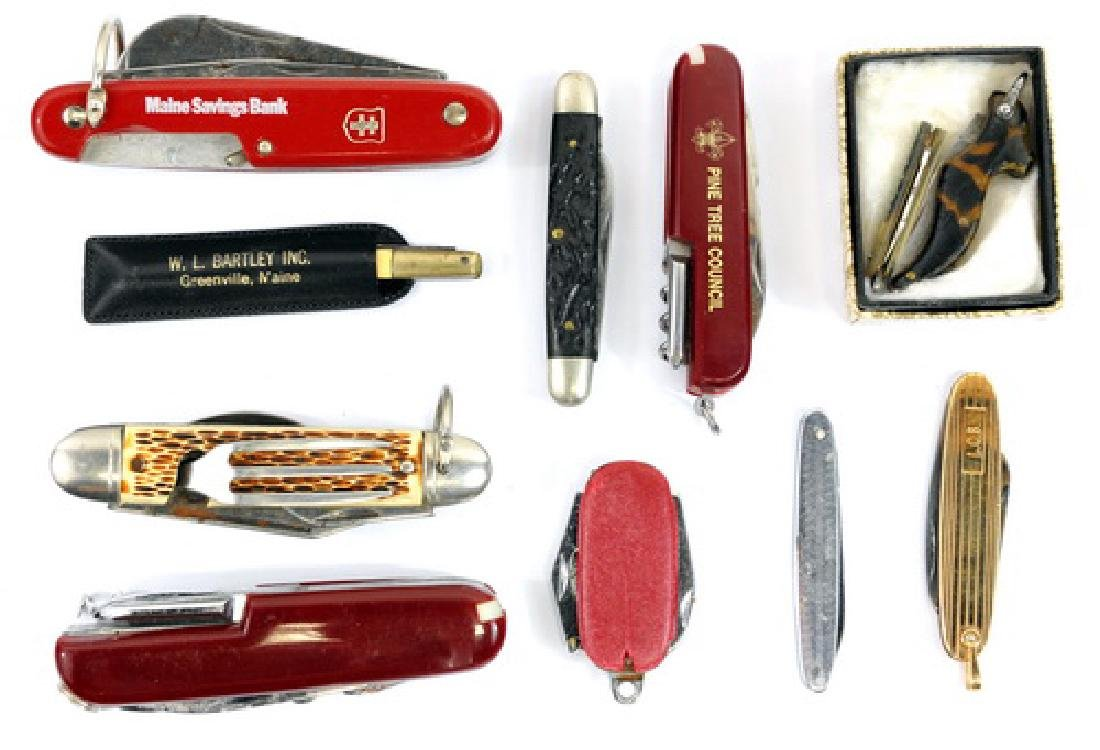 Estate Pocket Knives Swiss Army/others