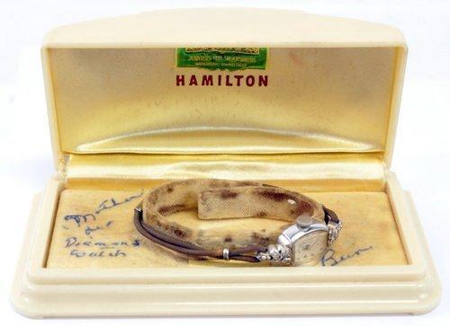 14kt. Ladies Antique Hamilton Wrist Watch