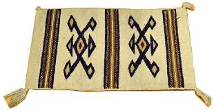Aztec style patterned rugs