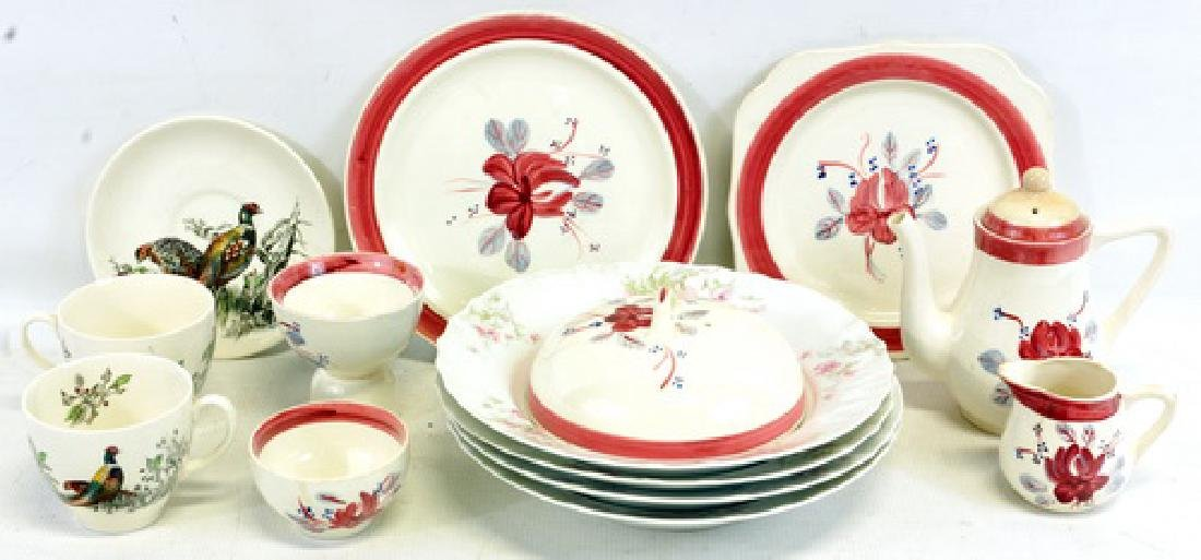 Vintage Pheasant 12 cup and saucer set