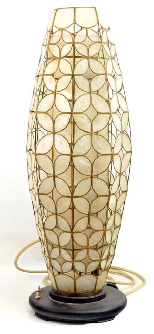 products bath capiz floor lt floors crushed varaluz vanity fixture room shell lamp light radius natural