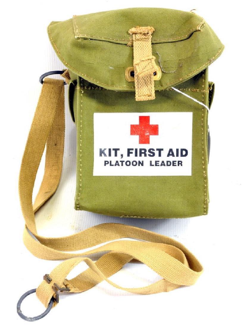 1943 WWII First Aid Kit Platoon Leader