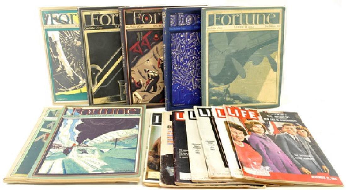 Vintage Estate Magazines/ephemera/fortune