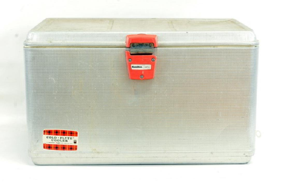 Two vintage coolers