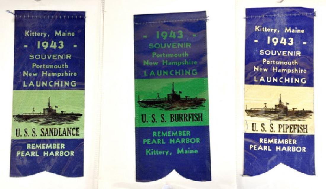 Five Kittery Maine WWII Navy Base Submarine