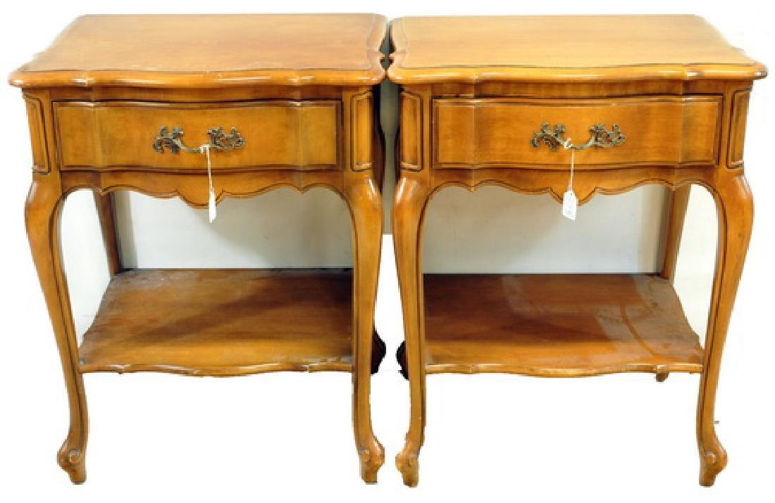 6 piece Oak Contemporary Bedroom set