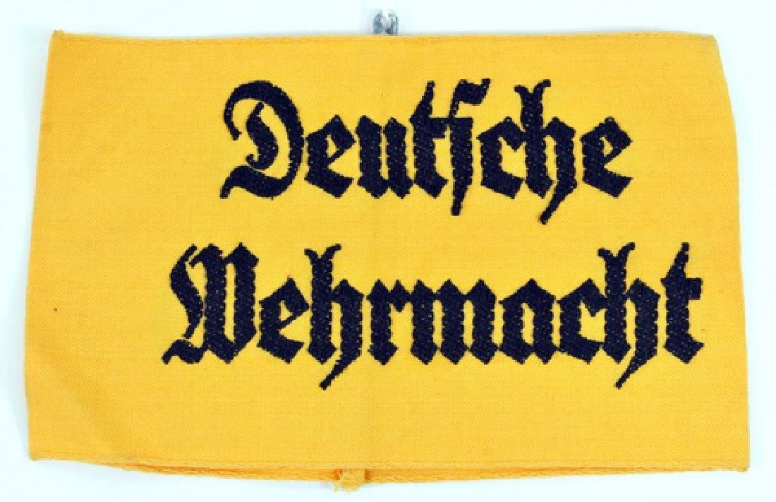 Original WWII German Wehrmacht Army armband