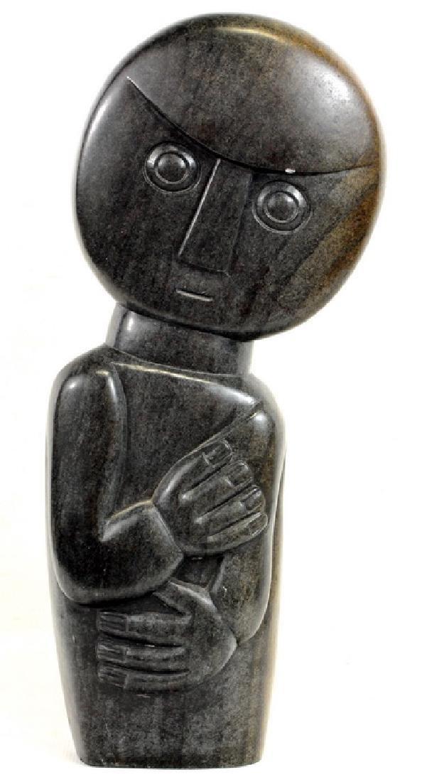 E. Chiwawa African Shona Style Soapstone Carving