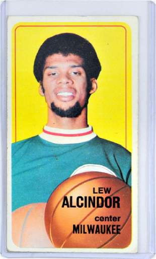 1970 Topps Lou Alcindor