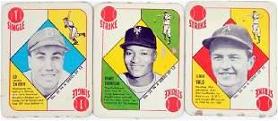 16 1951 Topps Red Backs Duke Snider