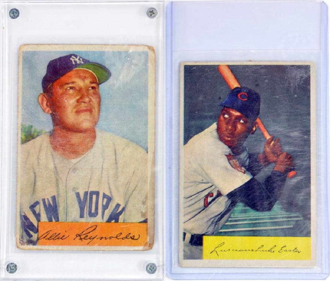 5 1954 Bowman Color Stars/commons