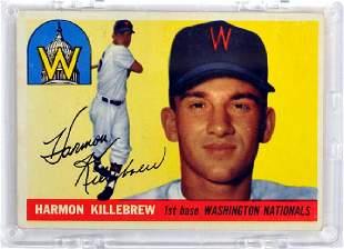 1955 Topps Harmon Killebrew Rookie