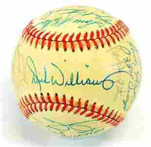 1985 San Diego Padres Team Signed Baseball Jsa Loa