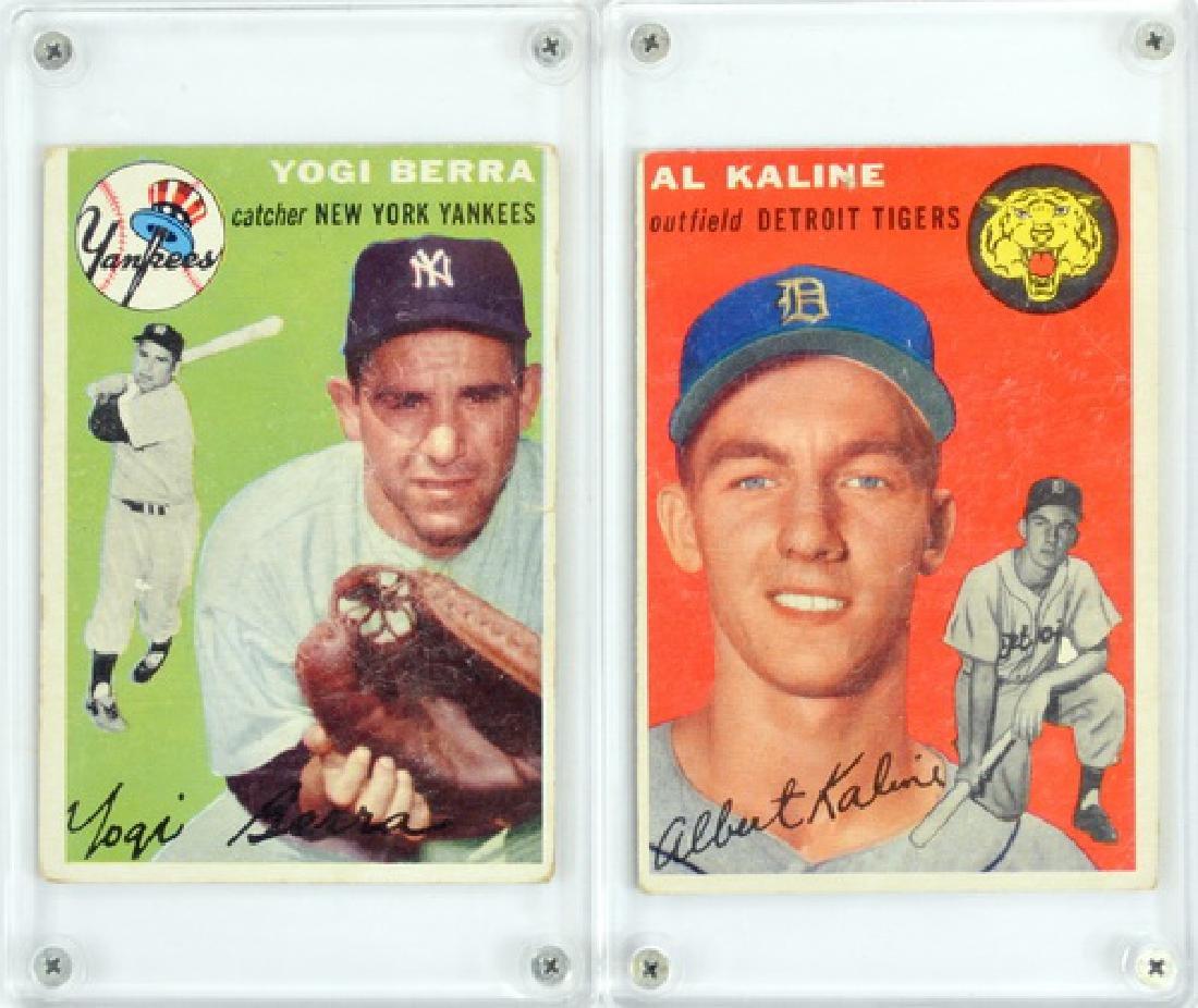 12 1954 Topps Baseball Stars/hof