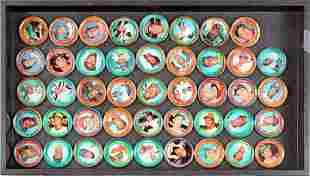 44 1971 Baseball All-star Coins