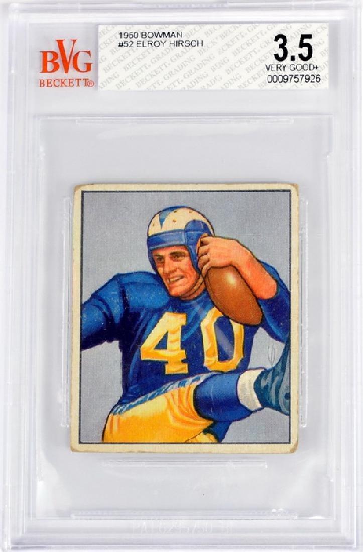 1950 Bowman Elroy Hirsch Bvg 3.5