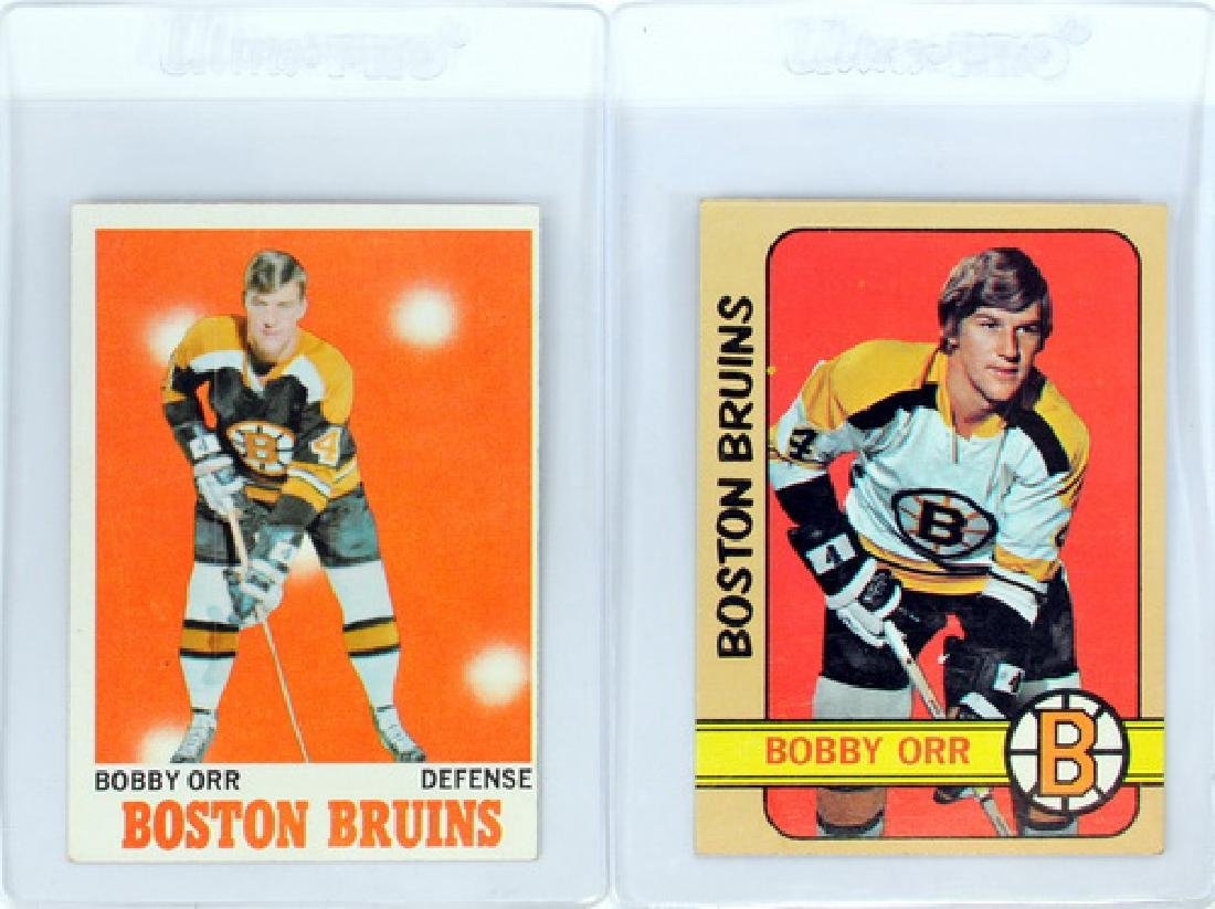 Two Vintage Bobby Orr Cards