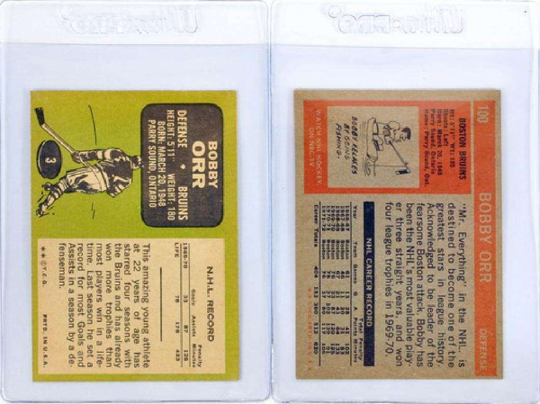 Two Vintage Bobby Orr Cards - 2