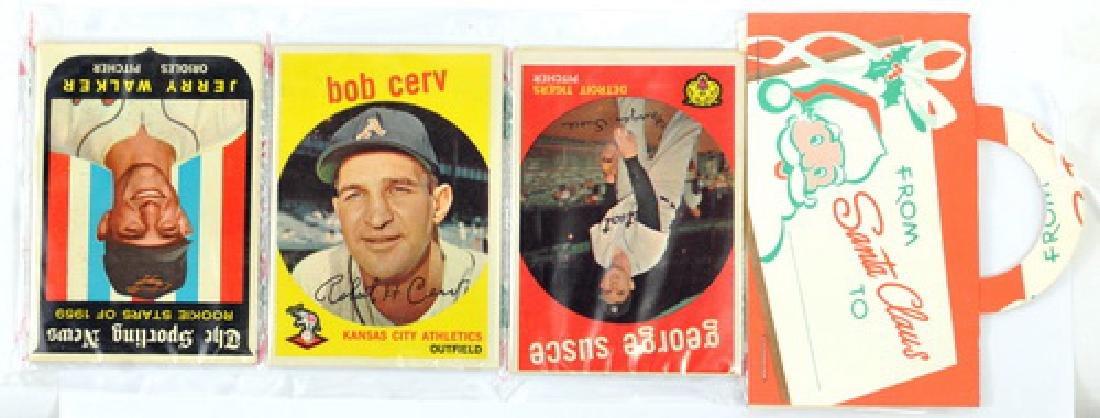 1959 Topps Baseball Rack Pack