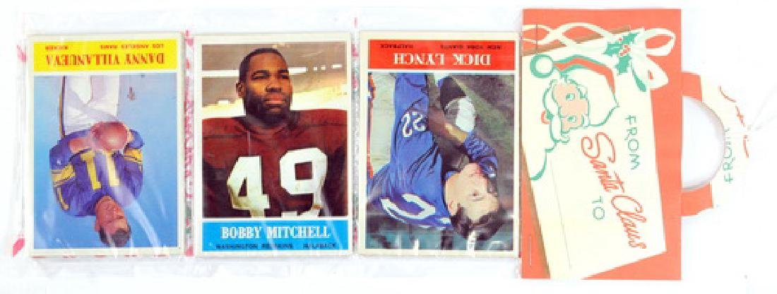1964 Philadelphia Football Christmas Rack Pack