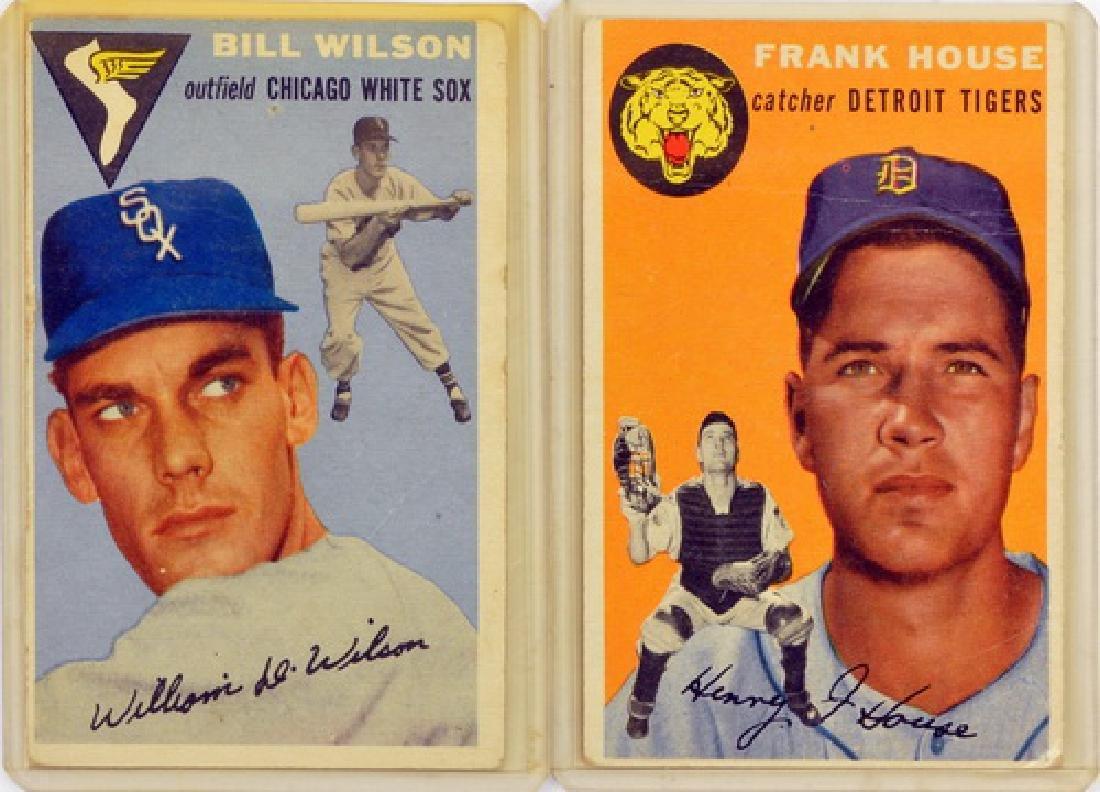 57 1954 Topps Baseball Cards