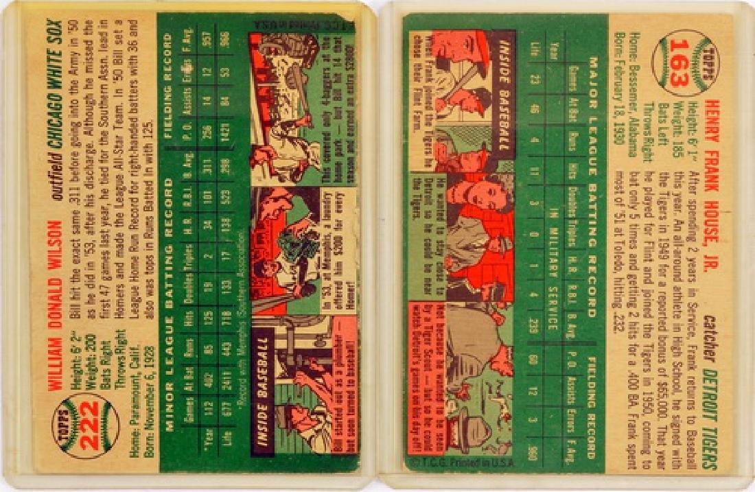 57 1954 Topps Baseball Cards - 2