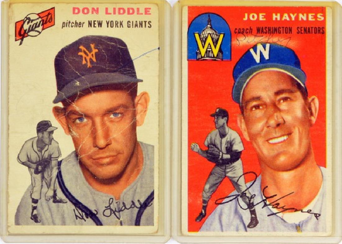 57 1954 Topps Baseball Cards - 3