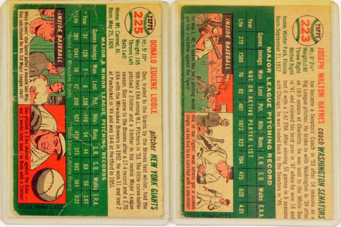 57 1954 Topps Baseball Cards - 4