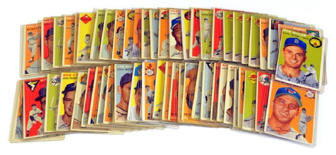 57 1954 Topps Baseball Cards - 5