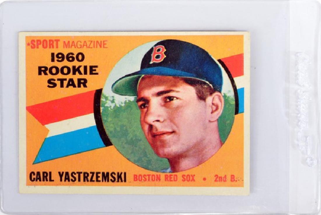 1960 Topps Carl Yastrzemski Rookie Ungraded