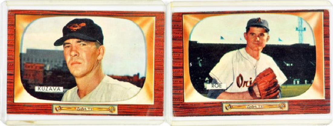 50 1955 Bowman Baseball Cards