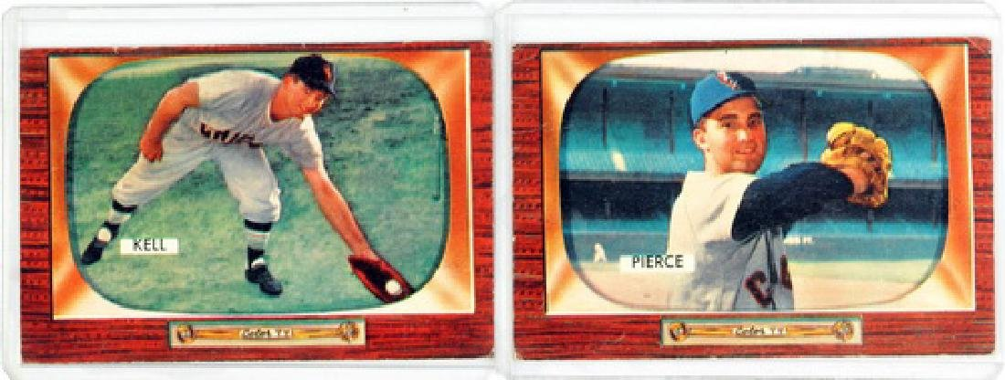 50 1955 Bowman Baseball Cards - 3