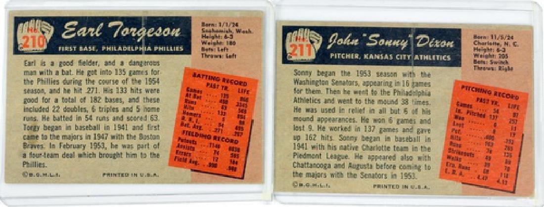 50 1955 Bowman Baseball Cards - 6