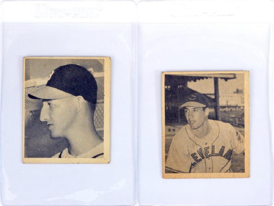 1948 Bowman Warren Spahn, Bob Feller Rookies