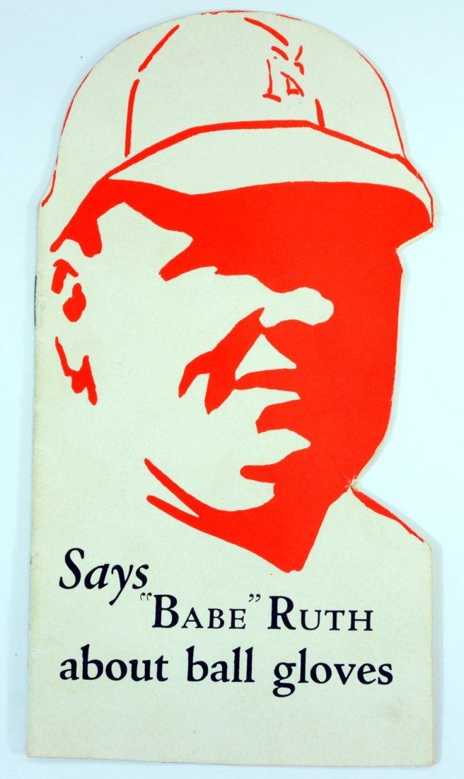 1920's Babe Ruth Reach Ad Piece