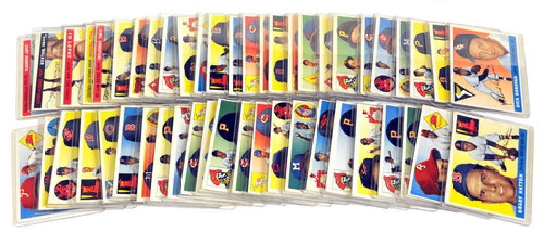 50 1955 Topps Baseball Cards - 7