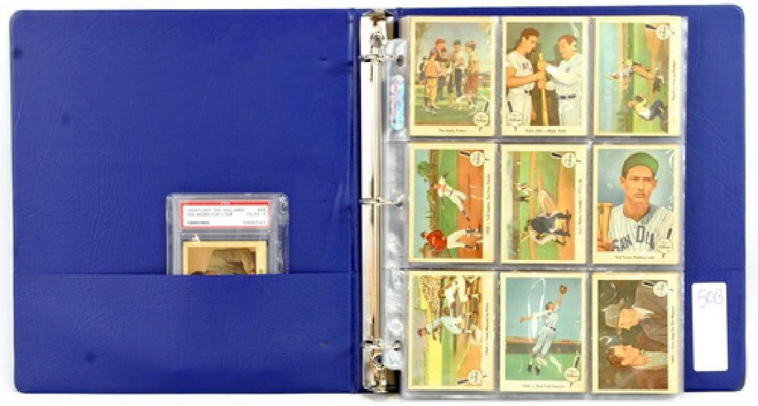 Complete Set Of 1959 Fleer Ted Williams