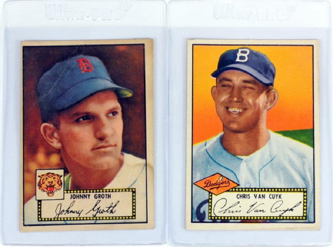 25 1952 Topps Baseball Cards In Nice Condition - 5