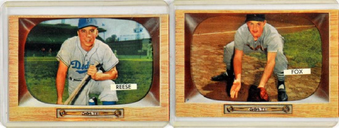 7 1955 Bowman Baseball Hof/stars