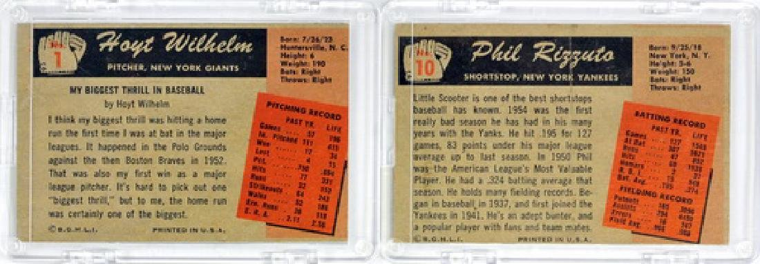 7 1955 Bowman Baseball Hof/stars - 4