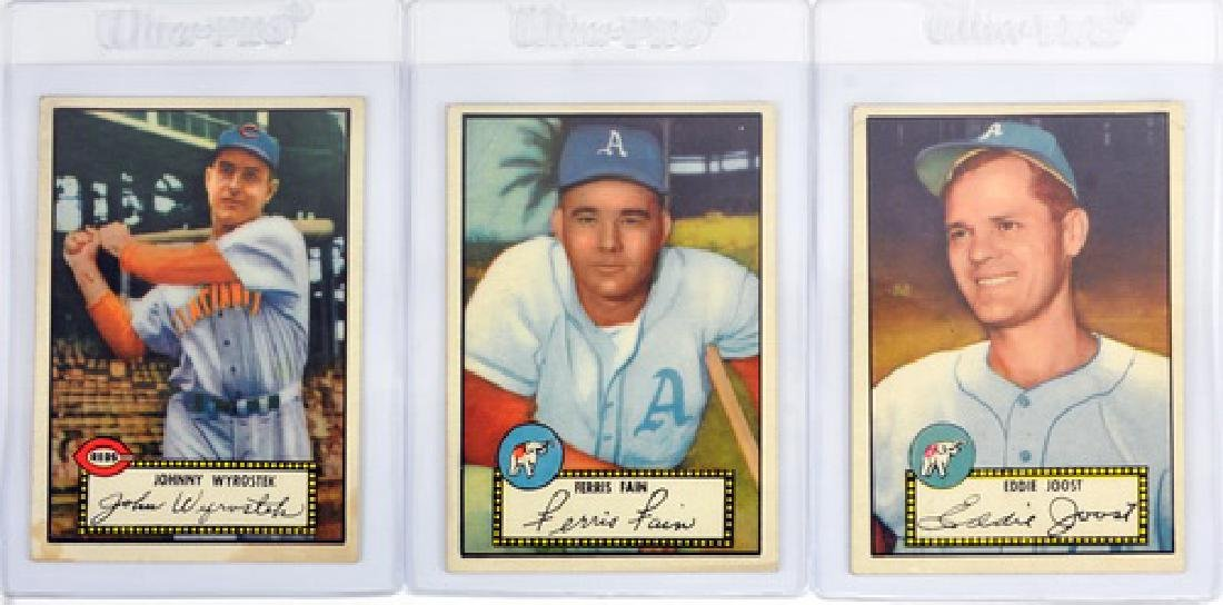 24 1952 Topps Baseball Cards Nice Condition