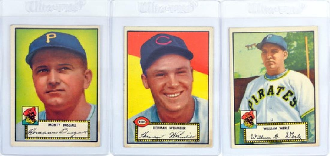 24 1952 Topps Baseball Cards Nice Condition - 3