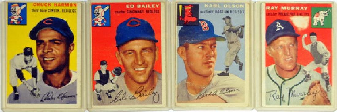 50 1954 Topps Baseball Cards