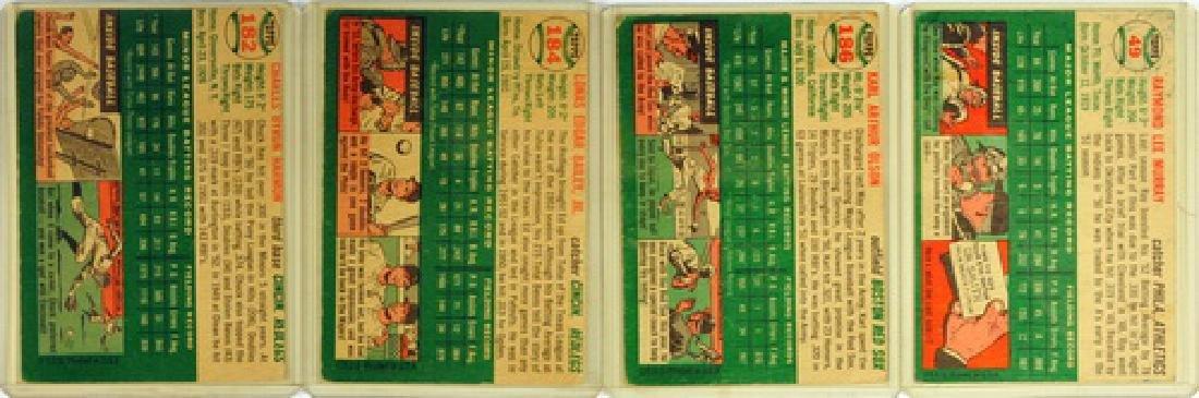 50 1954 Topps Baseball Cards - 2